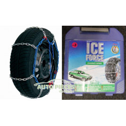 CHAINES NEIGE ICE FORCE N°3 12'' 13'' 14'' 15'' TRX A ECHELLE 12mm CHAINE A NEIGE SIEPA