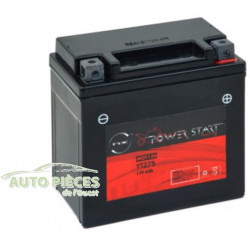 BATTERIE MOTO POWER START RACING YTZ7S 12V 6AH SANS ENTRETIEN