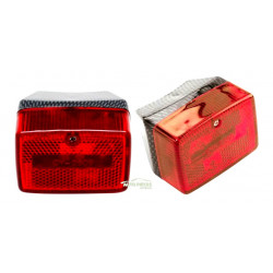 FEU ARRIERE ROUGE CARBONE MBK 51 REPLAY RC 204