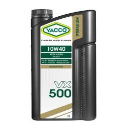 HUILE MOTEUR - 10W40 VX 500 - 2 LITRES