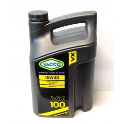 HUILE MOTEUR - 15W40 VX 100 - 5 LITRES