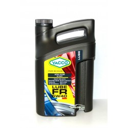 HUILE YACCO - 5W40 LUBE FR - 5 LITRES