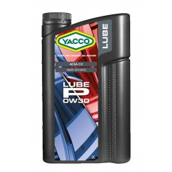 HUILE MOTEUR YACCO 0W30 LUBE P 2 LITRES