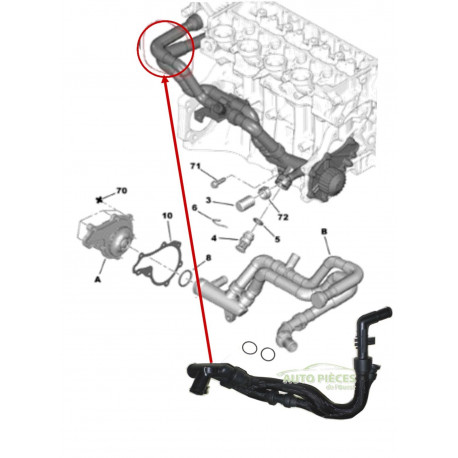 Laver Pompe à eau Phares pour Renault Scenic II JM scenic III Agriculture VEL SATIS