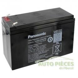 BATTERIE PANASONIC 12V – 7.2 AH - LC-R127 R2P