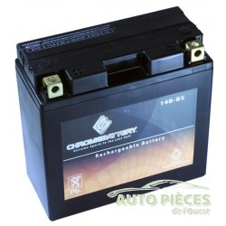 BATTERIE MOTO CHROMEBATTERY HAUTE PERFORMANCE 14B-BS