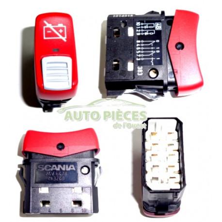 Interrupteur coupe batterie