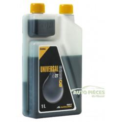 HUILE MOTEUR 2T 2 TEMPS McCULLOCH CHAINE GUIDE CHAINE TRONCONNEUSES 1 litre