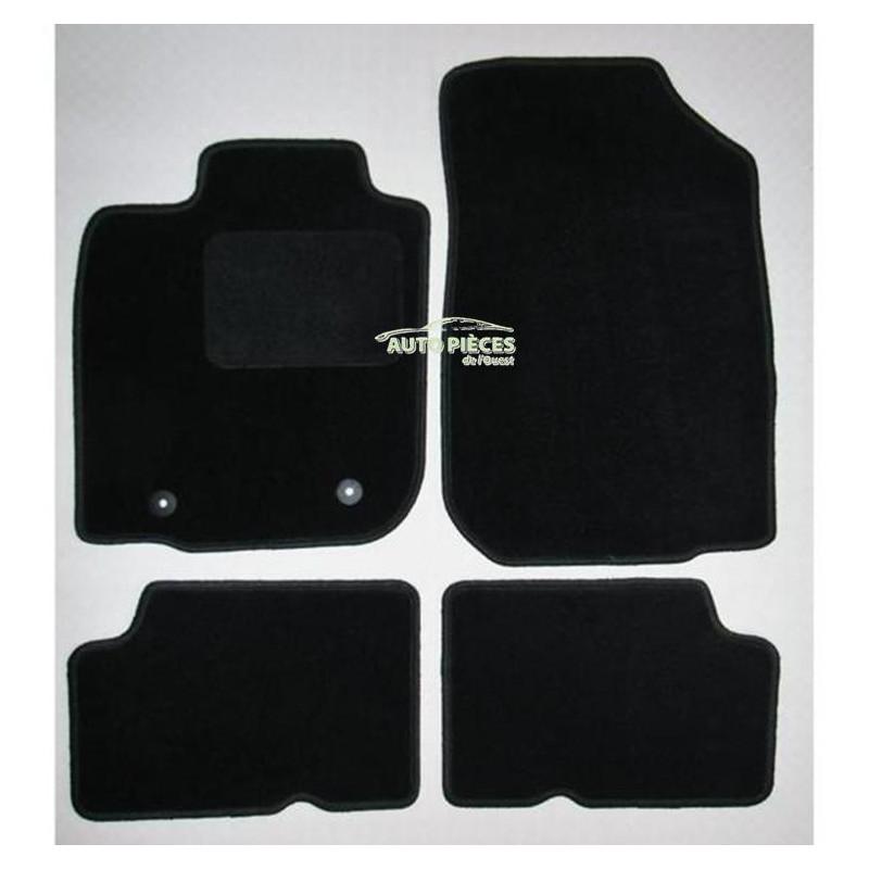 jeu de 4 tapis de sol moquette dacia duster noir neuf. Black Bedroom Furniture Sets. Home Design Ideas