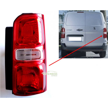 Feu arrière lampe connecteur électrique kit peugeot 301 508 expert /& partner