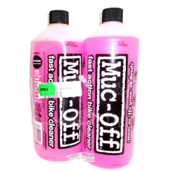 2 RECHARGES NETTOYANT MUC OFF NANO TECH 1L MUC-OFF BIODEGRADABLE VELO 5037835904000
