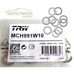 BAGUES ETANCHEITE TRW MCH991W10 ALU 10mm