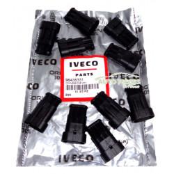 10 CONNECTEURS FICHES ELECTRIQUE IVECO 98435331 ORIGINE
