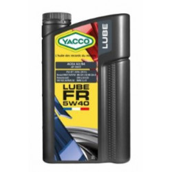 HUILE MOTEUR YACCO 5W40 LUBE FR 2 LITRES