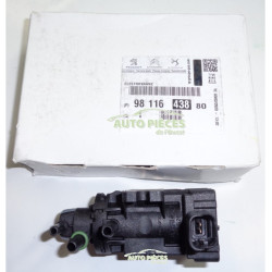 ELECTROVANNE DE TURBO SURALIMENTATION CITROEN C3 9811643880 ORIGINE