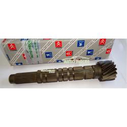 ARBRE SECONDAIRE 15X74 BOITE DE VITESSES ML GUG PEUGEOT BOXER 2316Y7 ORIGINE