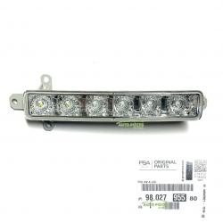 FEU DE JOUR A LED DIURNE AVD AVG PEUGEOT 308 2 II 9802795580 ORIGINE