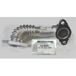 TUYAU COUDE RECYCLAGE GAZ ECHAPPEMENT RENAULT ESPACE 5 1.6 DCI 147252403R ORIGINE