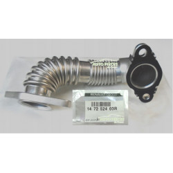 TUYAU COUDE RECYCLAGE GAZ ECHAPPEMENT RENAULT TALISMAN 1.6 DCI 147252403R ORIGINE