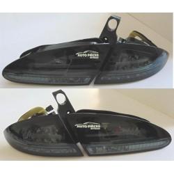 FEUX ARRIERE LED - NOIR - SEAT LEON 2005 A 2009 - COTE DROIT