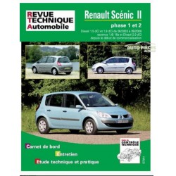 REVUE TECHNIQUE AUTOMOBILE RENAULT SCENIC II 2003 A 2006
