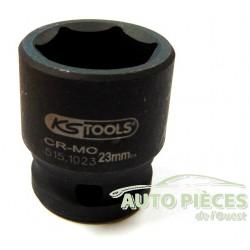 DOUILLE KS TOOLS 515.1023 DOUILLE A CHOCS 6 PANS 23 MM