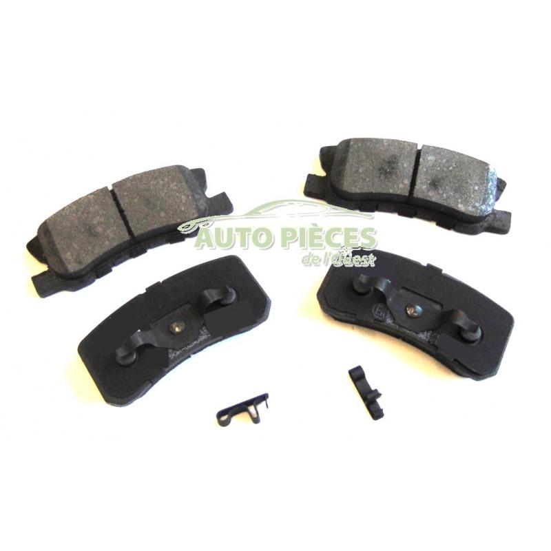 plaquettes de frein arriere 4 plaquettes frein ar jeep compass mk4. Black Bedroom Furniture Sets. Home Design Ideas