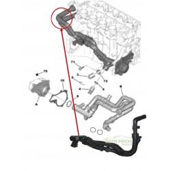 DURITE DE REFROIDISSEMENT TUBE EAU PEUGEOT 307 1.4 HDI 307 BREAK 1336V3