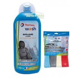 baume entretien cuir auto total wash 500ml avec lot de 4 microfibres. Black Bedroom Furniture Sets. Home Design Ideas
