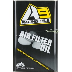 HUILE FILTRE A AIR A9 RACING OILS MOTO AIR FILTER OIL - 4 LITRES