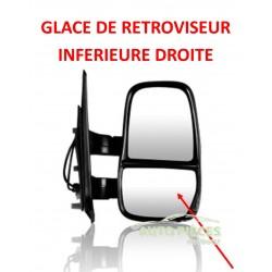 GLACE DE RETROVISEUR INFERIEURE DROITE IVECO DAILY DES 2006 –T9150
