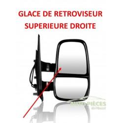 GLACE DE RETROVISEUR SUPERIEURE DROITE IVECO DAILY DES 2006 –T5150