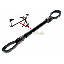 Adaptateur barre de transport pour porte velo bike original 4077 - Adaptateur velo femme pour porte velo ...