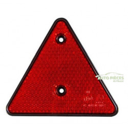 TRIANGLE ROUGE REFLECTEUR DE REMORQUE CARAVANE 2 TRIANGLES E11